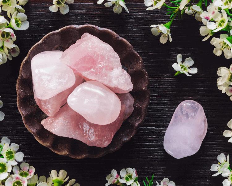 7 Crystals for Meditation | Rose Quartz